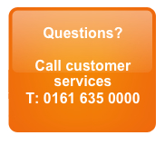Call Customer Services on 0161 635 0000