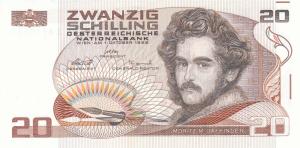 Austrian Schilling Banknote