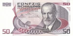 Austria 50 Schilling Banknote