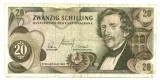 Photo of 20 old Austrian schillings