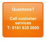 Customer service - 0161 635 0000