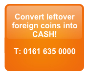 Convert Foreign Coins into CASH