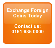 Exchange foreign coins for CASH