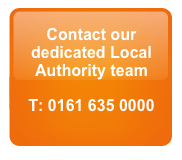 Call our local authority team