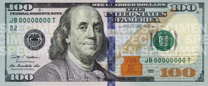 100 Dollar Banknote