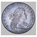 Very rare and expensive 1804 Silver Dollar