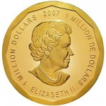 Photo of the Canadian Queen Elizabeth II coin