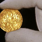Medieval gold coin - Edward III