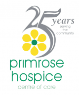 Logo for the Primrose Hospice in Bromsgrove
