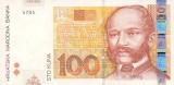 100 Croatian Kuna Note
