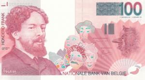 Belgium 100 Franc Banknote