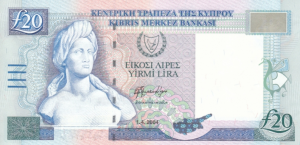 20 CYT Cypriot Pound Banknote