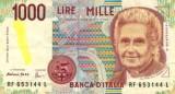 Italian Lira Banknote