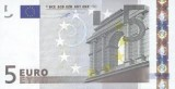 The five Euro banknote - exchange today.