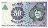 Pic of Danish Kroner Banknote