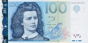 100 Estonian Kroon EEK Banknote