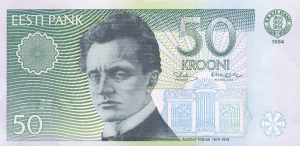 50 Estonian Kroon EEK Banknote