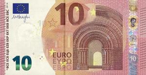 EUR €10 Banknote