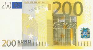 EUR €200 Banknote