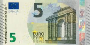 EUR €5 Banknote