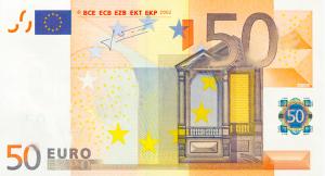 EUR €50 Banknote