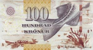 100 Faeroe Krona Banknote