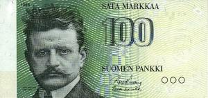 100 FIM Markkaa Banknote