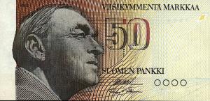 50 FIM Markkaa Banknote
