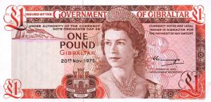 £1 GIP Banknote