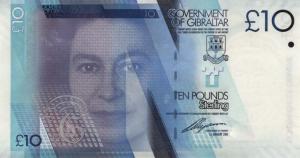£10 GIP Banknote