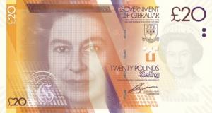 £20 GIP Banknote
