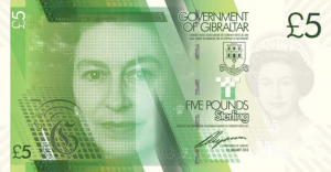 £5 GIP Banknote