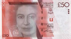 £50 GIP Banknote