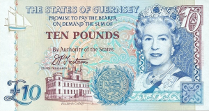 GGP £10 Pounds Banknote
