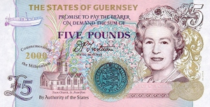 GGP £5 Pounds Banknote