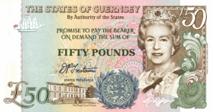 GGP £50 Pounds Banknote