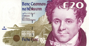 £1 Pounds Irish IEP Banknote