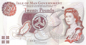 £20 Pounds IMP Banknote