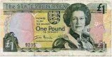 £1 Banknote from Jersey
