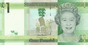 £1 Jersey Pound JEP Banknote