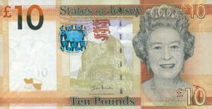 £10 Jersey Pound JEP Banknote