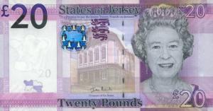 £20 Jersey Pound JEP Banknote