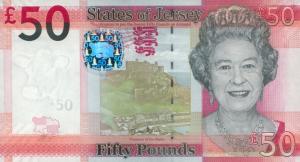 £50 Jersey Pound JEP Banknote