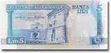 Picture of a Maltese Lira Banknote