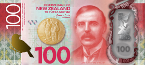 New Zealand $100 Dollar Note NZD