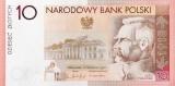10 Polish Zloty Banknote