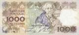 1000 Portuguese Escudos Banknote