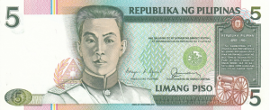 5 PHP Banknote