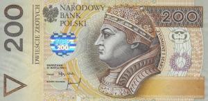 200 PLN Zlotych Banknote