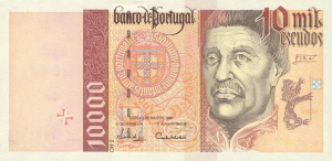 10000 PTE Banknote